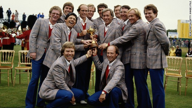 Though Watson lost his singles match it mattered little -- the U.S. won emphatically by 18½ - 9½. It remains Europe's biggest margin of defeat in Ryder Cup history.