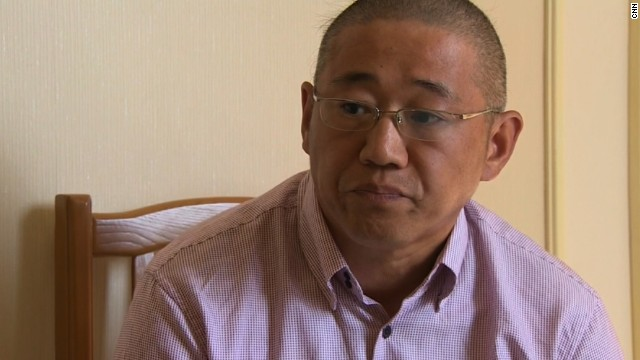 "In May 2013, a North Korean court sentenced Kenneth Bae, a U.S. citizen, to 15 years of hard labor for committing ""hostile acts"" against the state. North Korea claimed Bae was part of a Christian plot to overthrow the regime. In a short interview with CNN on Monday, September 1, Bae said he is working eight hours a day, six days a week at a labor camp. ""Right now what I can say to my friends and family is, continue to pray for me,"" he said."