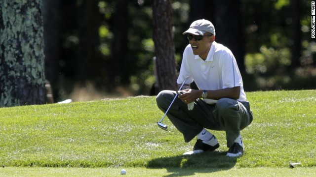 President Barack Obama has been criticized for the amount of time he has spent on the golf course.