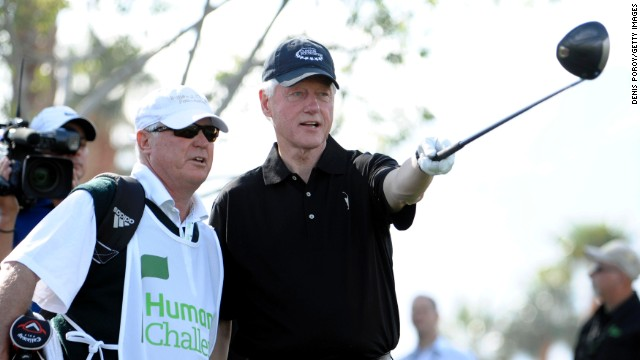 Bill Clinton is a huge golf enthusiast. His foundation helps finance the <a href='https://www.clintonfoundation.org/get-involved/take-action/attend-an-event/humana-challenge-partnership-clinton-foundation' target='_blank'>Humana Challenge PGA Tour event, which will be held in January.</a>