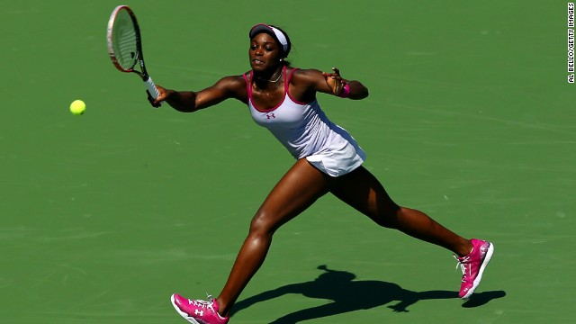 "Sloane Stephens has been tipped the become ""the next Serena"" -- yet to win a grand slam, she has a long way to go to match the current world No. 1, but she beat her idol at the 2013 Australian Open to reach the semifinals."