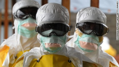 Ebola outbreak 'out of control'