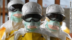 CDC director: Ebola is 'out of control'
