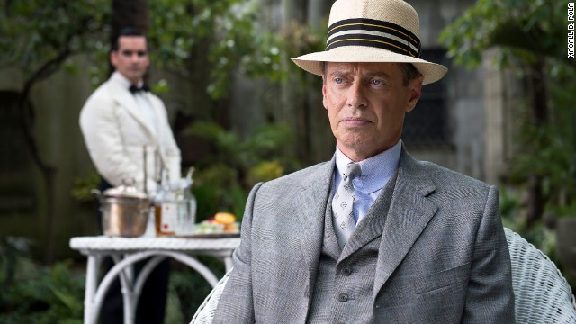 "The rules were made to be broken in HBO's ""Boardwalk Empire."" Set in Atlantic City, New Jersey, during the 1920s, ""Nucky"" Thompson (Steve Buscemi) sees all from his throne built on political fixing and illegal dealing. The fun comes to an end with Season 5, which launched September 7."
