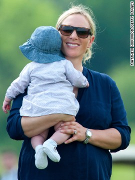 Queen Elizabeth II's eldest granddaughter gave birth to Mia Grace Tindall on January 17, 2014. Mia is 16th in line for the British throne.