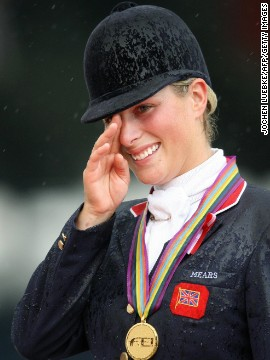 The 33-year-old Zara is a former world champion, taking gold in 2006, and won European titles in 2005 and 2007.