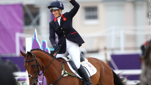 Having given birth to her first child in January, Zara Phillips has since returned to competition and helped Great Britain qualify for the 2016 Olympics with her performance at August's FEI World Equestrian Games.