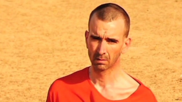 Who is ISIS hostage David Haines?
