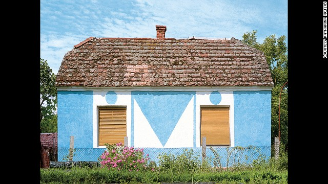 Hungarian Cubes, by photographer Katharina Roters, documents the post-communist era homes in the Hungarian countryside.