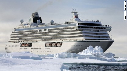 Cruise breaks new ice in Arctic