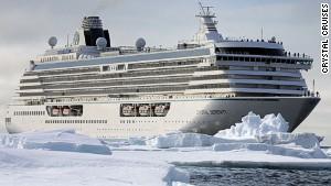 Cruise breaks new ice in Arctic