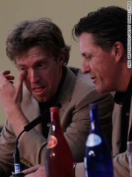 """Mahan was vociferously defended by Mickelson in the team press conference after that reverse in Wales and his recent victory at the Barclays convinced Watson to pick him. """"Losing lingers,"""" Mahan said of his 2010 experience. """"It's been four years, but it feels like yesterday."""""""