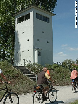 Every section of the Berlin Wall Trail is accessible by the city's bike-friendly public transportation system.