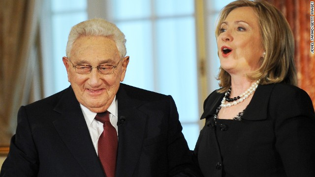 Henry Kissinger loves joking about Hillary Clinton 2016