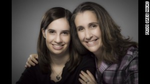 Author Lori Day with her daughter, Charlotte Kugler, who contributed to \