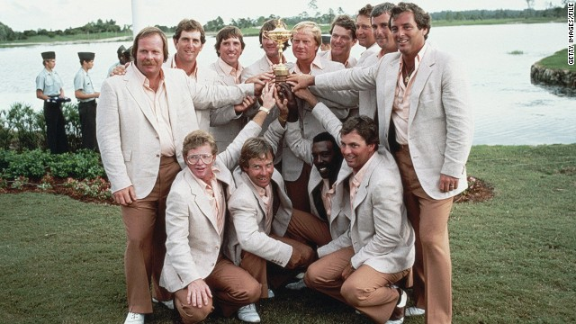 The 1983 contest was a different story altogether, as the Europeans missed out on a first victory by just one point in Florida. The U.S. team, captained by Nicklaus, won 14½ - 13½. Watson won four out of his five matches, including a crucial singles match with Bernard Gallacher, having been put out in the pivotal final position by his skipper.