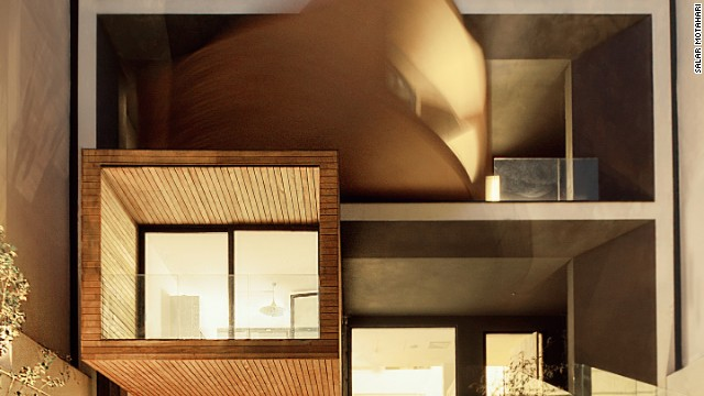 The seven-floor Sharifi-ha in Tehran is the award-nominated creation of locally based designers Next One.