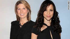 Nicolle Wallace, left, and Rosie Perez will join ABC\'s \