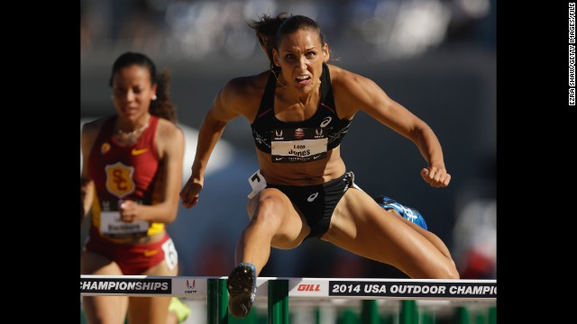 Lolo Jones is trading her cleats for dancing shoes -- at least for now. The Olympic athlete competes on season 19 with Keo Motsepe.