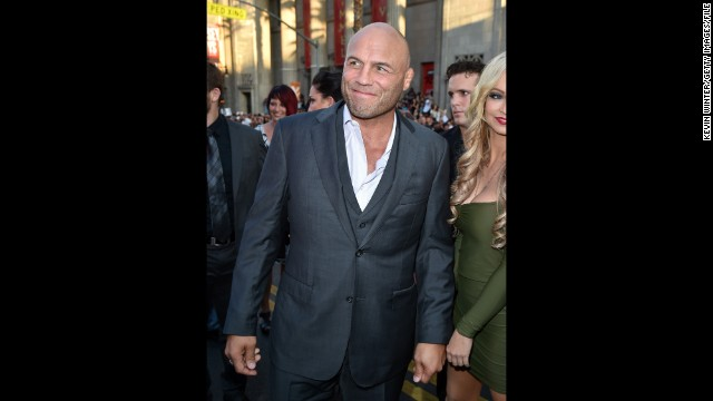 "Champion mixed martial artist Randy Couture has a competitive spirit, which just might give him an edge on ""Dancing With the Stars."" The budding actor will perform with pro Karina Smirnoff."