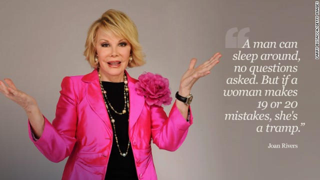 Joan Rivers: In her own words