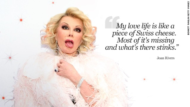 Joan Rivers In Her Own Words