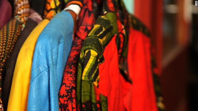 African Fashion Designer Shoots For The Stars Cnn Com