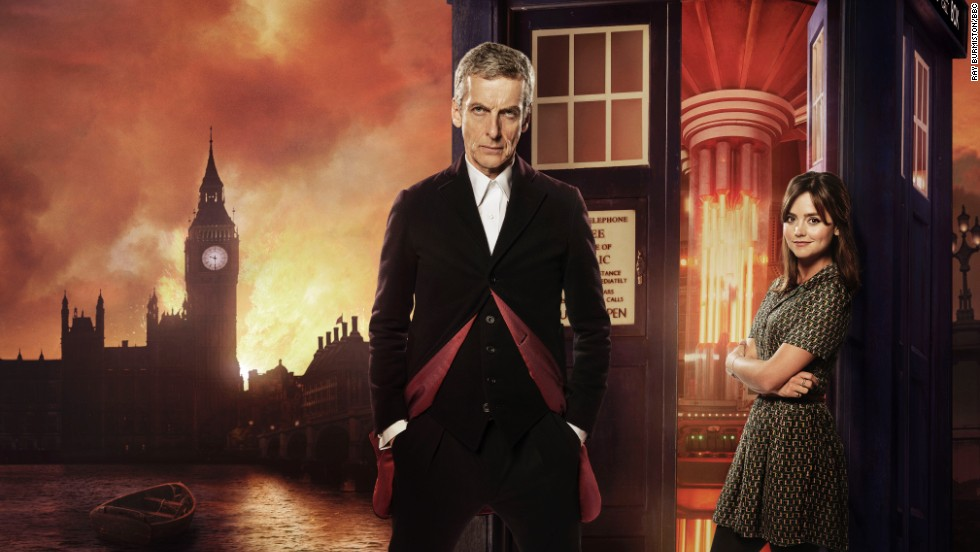 """On November 23, 1963, """"Doctor Who"""" was first broadcast on the BBC. Today, it remains a cult favorite among science-fiction fans young and old. Peter Capaldi (pictured with Jenna Coleman) took over as the Twelfth Doctor this season. Click through the gallery to see the men who have played the title character."""