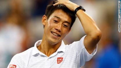 Tennis: Nishikori's 'crazy' reception