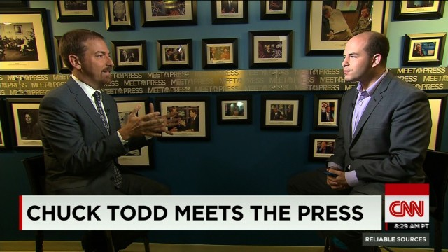 """An interview with Chuck Todd as he takes over """"Meet the ..."""
