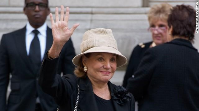 Television journalist Barbara Walters