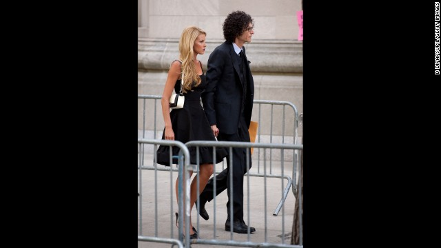 Radio host Howard Stern and wife, Beth Ostrosky Stern