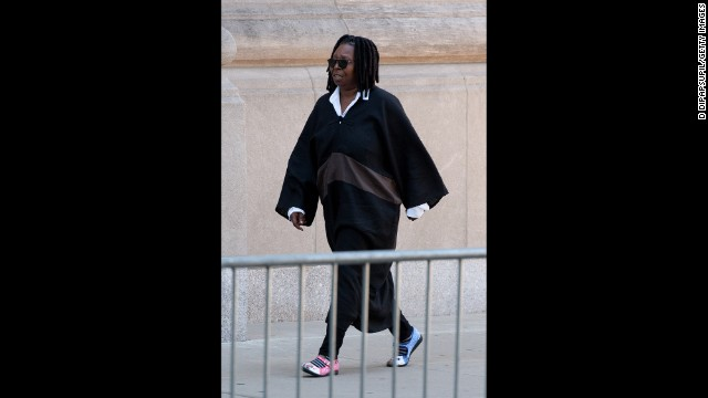 Comedian and actress Whoopi Goldberg