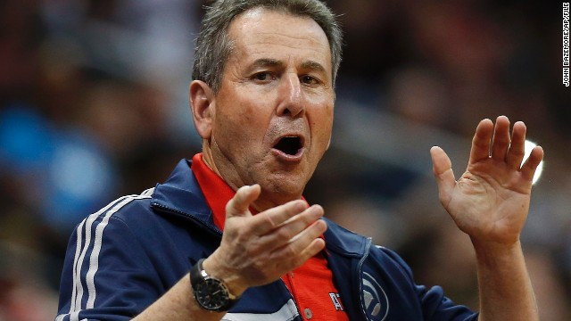 Atlanta Hawks controlling owner<a href='http://www.cnn.com/2014/09/07/us/atlanta-hawks-owner-bruce-levenson-racist-email/index.html?hpt=hp_t1'> Bruce Levenson</a> announced he will sell the team in light of an offensive email he sent. Levenson is not the first sports team owner to face the consequences of his actions: