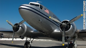 WWII pilot reunited with historic C-47 plane
