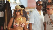 It seems there's no such thing as time off for Jay Z and Beyonce.