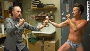 Michael Keaton and Edward Norton star in