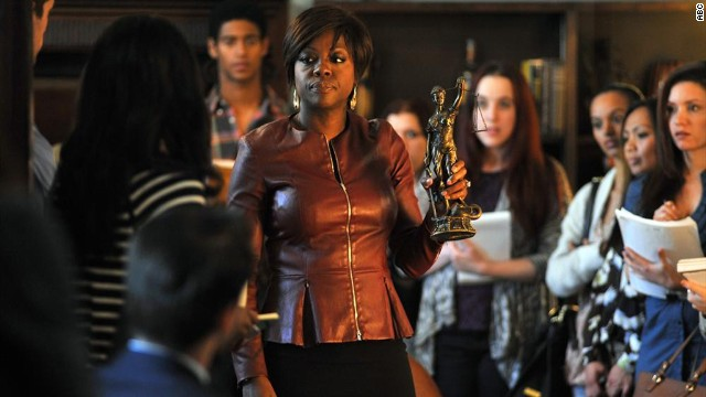 "<strong>Winner:</strong> With Viola Davis, center, in front of the camera and a Shonda Rhimes protege behind it, it's little surprise that ABC's ""How To Get Away with Murder"" has been one of fall 2014's freshman hits. ABC has happily picked it up for a full 15-episode run."
