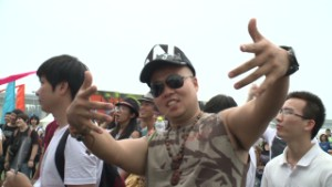 Hip-hop puts down roots in China