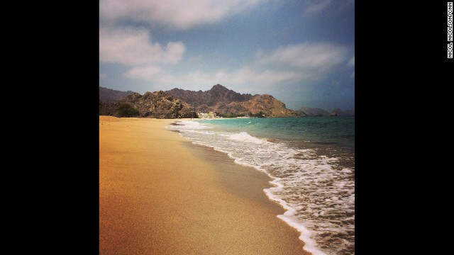 "QANTAB BEACH - MUSCAT, OMAN: ""People ask why I run away here every few weeks. Er.... Because it's like this?"" - CNN's Nicol Nicolson. Follow Nicol (<a href='http://instagram.com/nicolnic' target='_blank'>@nicolnic</a>) and other CNNers along on Instagram at <a href='http://instagram.com/cnn' target='_blank'>instagram.com/cnn</a>."