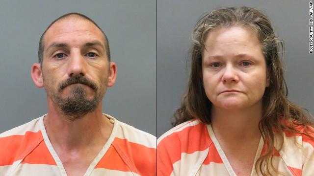 Kendra Tooley, right, and her boyfriend, Ricky Roy House Jr.