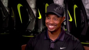 Tiger Woods is friends with WHOM?