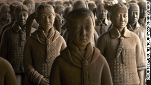 Terra-cotta warriors get 'sex change'