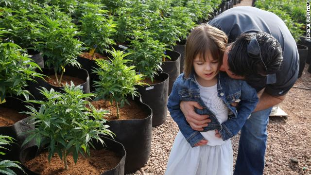 Matt Figi's 7-year-old daughter Charlotte was once severely ill. But a special strain of medical marijuana known as Charlotte's Web, which was named after the girl early in her treatment, has significantly reduced her seizures. <a href='http://www.cnn.com/2014/07/28/health/federal-marijuana-bill/'>On July 28</a>, Rep. Scott Perry, R-Pennsylvania, introduced a three-page bill that would amend the Controlled Substances Act -- the federal law that criminalizes marijuana -- to exempt plants like Charlotte's Web that have an extremely low percentage of THC, the chemical that makes users high.