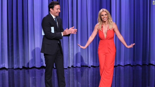 Jimmy Fallon said he signed Britney Spears up for Tinder before the September 9 episode of