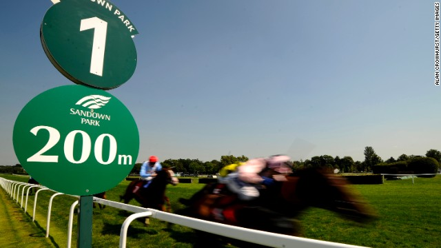 The 31-year-old, here riding Bridgehampton at Sandown, is the first British female rider past the 100-win mark in a single season, which she managed in 2008.
