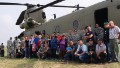 U.S. Army copters surprise village