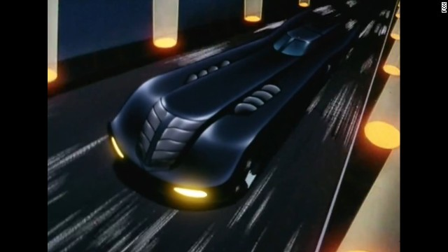 "Playing off 1989's shift toward more streamlined Batmobiles, the vehicle seen in 1992's ""Batman: The Animated Series"" was a lengthy gothic number outfitted with all sorts of crime-fighting accents."