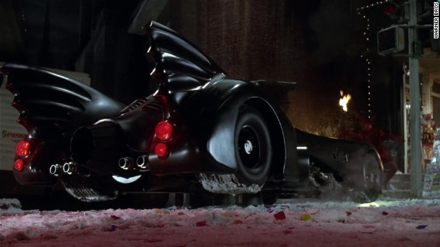 "Having established that Batman rode around in the equivalent of a incredibly upgraded sports car, 1992's ""Batman Returns"" kept the Batmobile as a fierce, enviable automobile that even a non-superhero would want to drive."