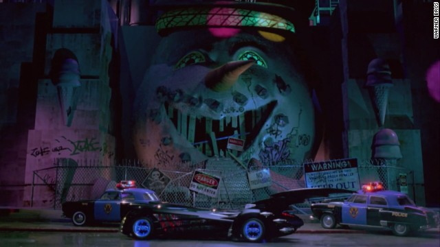 "When George Clooney and Chris O'Donnell paired up as ""Batman & Robin"" in 1997, the Batmobile looked like a composite of the cars that had come before in the previous three films. A little sharper than the ""Batman Forever"" ride but hardier than the one in ""Batman Returns,"" this Batmobile was a single-seat convertible."